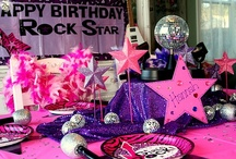 Birthday Theme: Rockstar! / Party like a rockstar! Use our fun Pinterest theme board to find images for planning your next rockin' birthday party!
