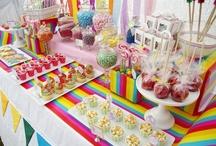 Birthday Themes: Rainbow & Unicorn
