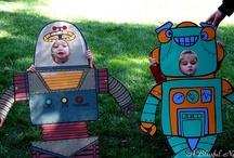 Birthday Theme: Robots