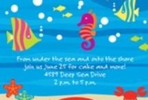 Birthday Theme: Deep Blue Sea!