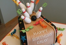Birthday Theme: Bowling