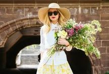 SPRING & SUMMER FASHION / Spring & Summer Outfit Inspirations. We all love Fashion & Sun.