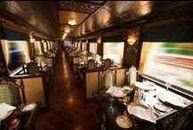 Rail Car Interiors / This board includes photos of historic, restored, and modern rail car interiors.