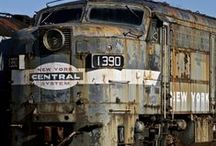 Forgotten Treasures / Abandoned rail cars and locomotives.