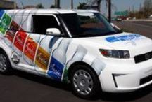Vehicle Graphic Inspiration / Grab their attention everywhere you go!