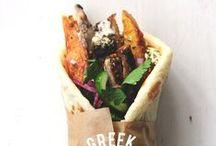 A manger avec les mains / Street food