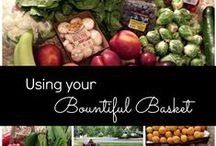 Bountiful Baskets / Recipe suggestions for Bountiful Baskets distributions and in-season produce.  See more Bountiful Basket posts on my blog:  www.AReinventedMom.com