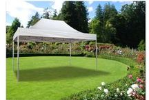 OUR STEEL TENTS / Our Steel Tents are great for every garden or barbecue party and a lot of other events. No matter if for singles, party people or families. The tents are great for every occasion and also the price is very attractive!