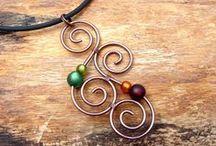 Drátované šperky/Wire jewelry