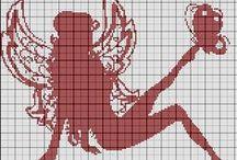 Křížková výšivka/Cross stitch