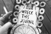 Wreck This Jounarl / Wreck This Jounarl ideas