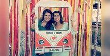 Marco Polaroid Fiestas / Marco polaroid para boda de cartón. Diferentes diseños personalizados