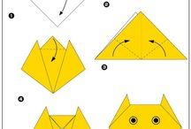 papírové vyrábění, origami