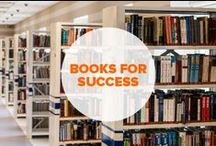 Books for Business Success / Read these, then go out and conquer. Special thanks to Mark Hayes.