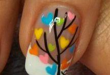 Holiday nails / Nail Art / by Elizabeth J Caldwell