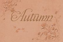 Autumn Season Weddings / Traditional colors for Autumn weddings.