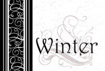 Winter Season Weddings / Traditional colors for Winter Season weddings.