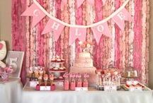 Candy Table with Decoration ideas / by Yolie Castillo