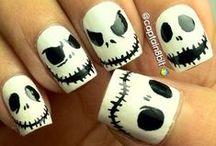 Nail Art:Halloween Nails Edition