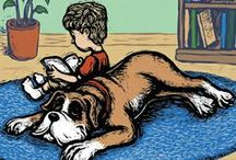 Helping Moms Publish Their Own Children's Books / Ever dream of writing and publishing your own children's book? We help moms nationwide with children's book illustration and publishing services! / by MindStir Media