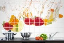 TILE MURALS / Find here the most creative and amazing Tile Murals for bathroom and kitchens