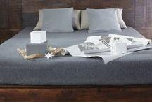 Bedroom / Beautiful wooden furniture in bedroom