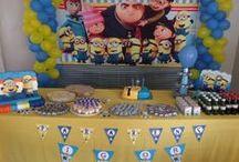 Festa Igor 1º aninho / algumas ideias da internt +ajudinha da familia = Festa linda!