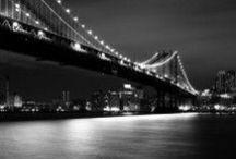 Manhattan Bridge, New York, NY / Fine art images of the Manhattan Bridge, the Brooklyn Bridge's little brother, available from BrooklynPrints.com.