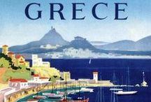 Greece Vintage  Posters