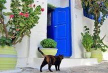 Streets of Greek Islands