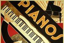 Vintage Musical Posters