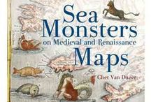 Sea Monsters Maps(Medieval and Renaissance)