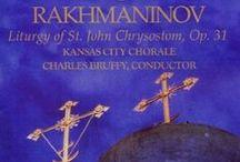 S.Rachmaninoff Cd/Dvd  Covers