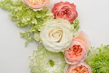 Wedding color palette examples / Some examples of colors that match beautifully with your main wedding color choice