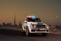 G63 ///AMG / The Mercedes-Benz G-Class or G-Wagen (as it is called in some areas), short for Geländewagen (or cross-country vehicle), is a four-wheel drive full-size luxury SUV manufactured by Steyr-Puch (now Magna Steyr) in Austria and sold by Mercedes-Benz.