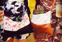 Yemoja clients and their bags / Our Yemoja bags are world travelers, together with their owners they explore the world