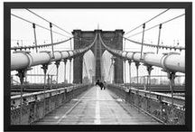 Brooklyn Bridge Framed Posters / Brooklyn Prints now offers framed posters of our famous Brooklyn Bridge images!