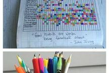 Bullet Journal / ideas for bullet journal, bullet journaling, journaling, bujo