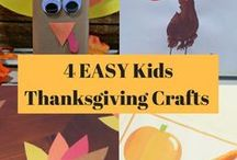 Holidays :: Thanksgiving / crafts, decorations, activities, and food for Thanksgiving