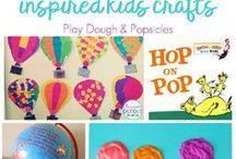 KidLit Crafts / ideas for crafts and projects related to books, kidlit, book projects