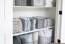 Linen/pantry cupboard organisation