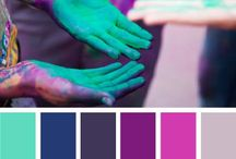 Color Boards / Color Boards for inspiration. / by The House of van Gogh