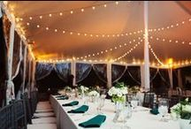 Tents & Lighting at Decatur House / Get some ideas for your event at Decatur House.
