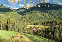 2014 GOLFSHOTS Calendar / The award winning 2014 GOLFSHOTS calendar features extraordinary golf course photography of Evan Schiller.  It can also be customized with a corporate imprint to give to clients, friends or at conferences or golf outings.