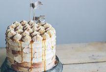 gâteau / cake , cupcake, muffin  / by creamy baking101