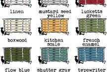 A PAINT Miss Mustard Seed / Milk Paint Projects & Information