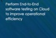 End-to-End Software Testing Services / ClicTest provide end-to-end software testing services on Cloud and On-premises, which includes Smoke, Functional, Regression, Performance and Security testing.