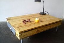 Reclaimed wood furniture / WOODCOCK - furniture from pallets, reclaimed wood