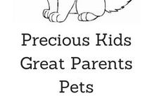 PKGP Pets / All things Pet related! / by Precious Kids Great Parents