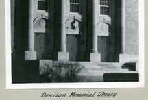 "Denison Memorial Library 1924 - 2007 / The library on the 9th Avenue Campus was started with donated funds in 1924 for ""The Charles Denison, M.D., Memorial Library.""  Detailed library history here - http://hslibrary.ucdenver.edu/about/library-history. / by Health Sciences Library, Anschutz Medical Campus, University of Colorado"